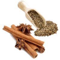 cumin and cinnamon